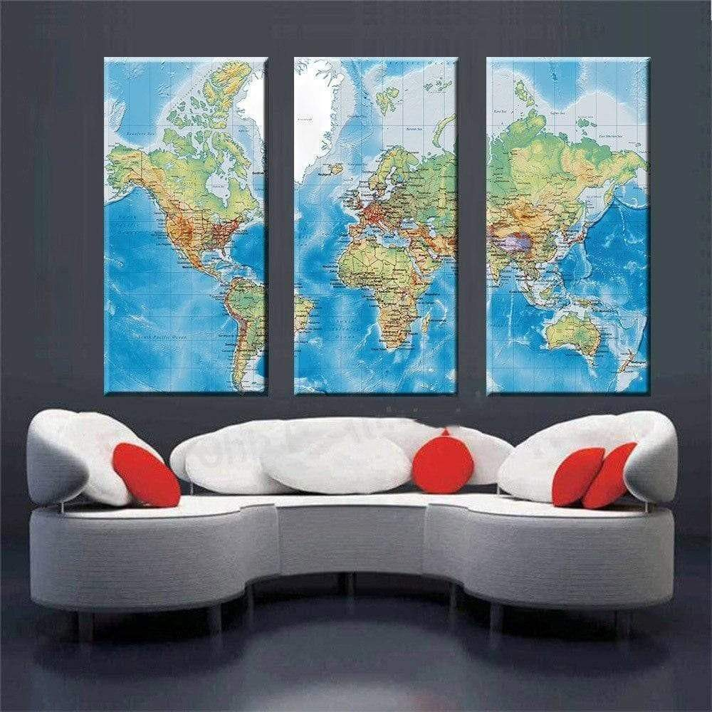 World Map Table The Samaritan Map Table World Map Table