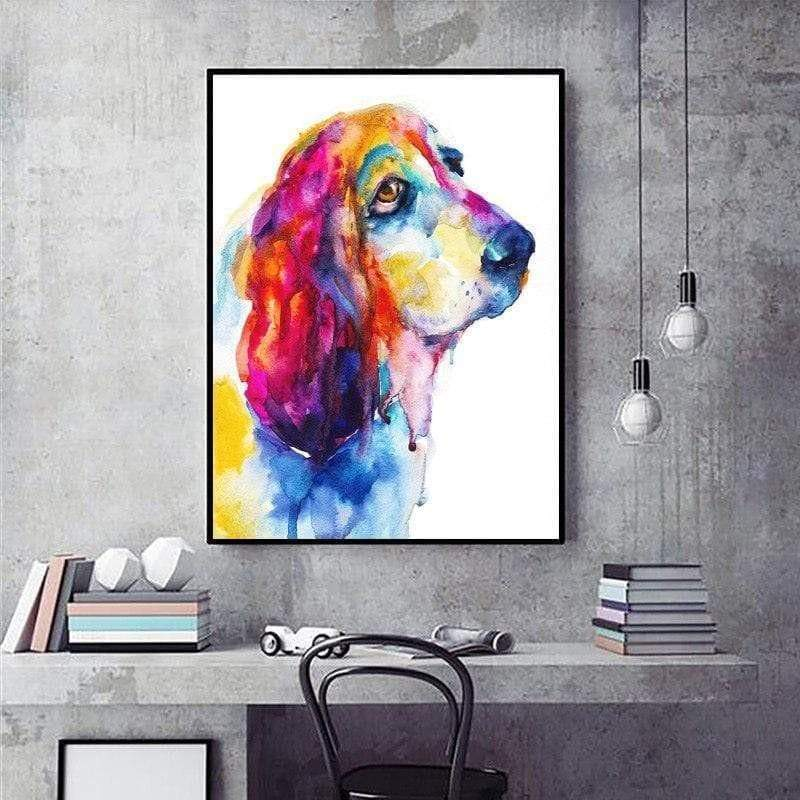Tableau Chien My Beauty Dog samaritain Tableau chient chat