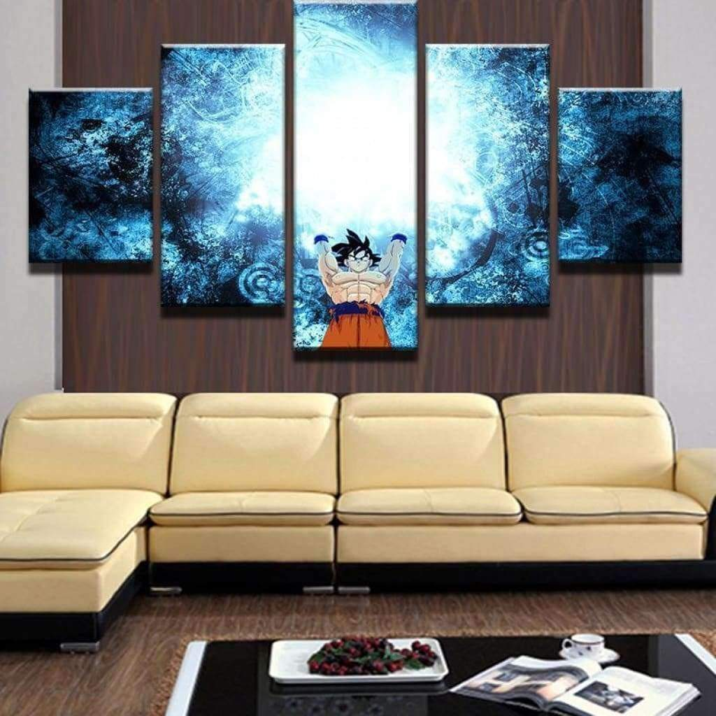 Dragon Ball Goku Super Attack Samaritan Painting Dragon Ball Painting