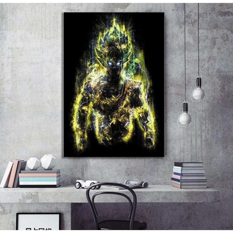 Modern Dragon Ball Painting Samaritan Fire Dragon Ball Painting