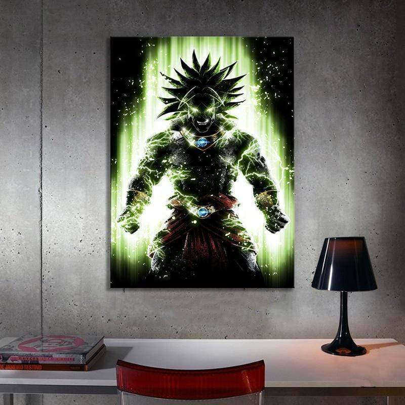 Dragon Ball Super Broly Samaritan Painting Dragon Ball Painting