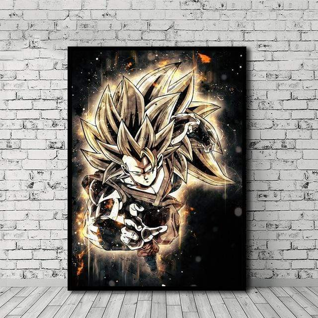 Tableau Dragon Ball Super La Collection - RUEDESTABLEAUX.COM