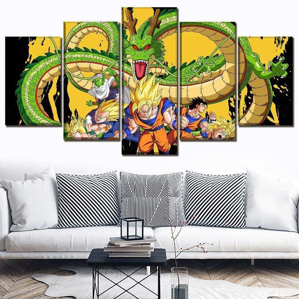 Tableau Dragon Ball Z Shenron and Co - RUEDESTABLEAUX.COM