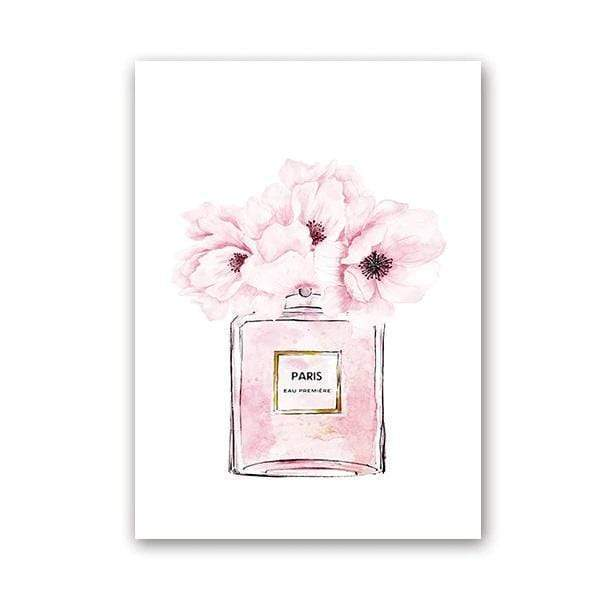 Tableau Fashion Eau de Paris Chanel samaritain Tableau Nordic