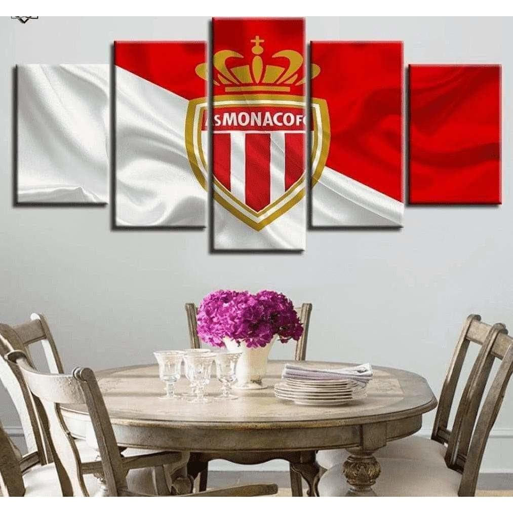 Tableau Football AS MONACO samaritain