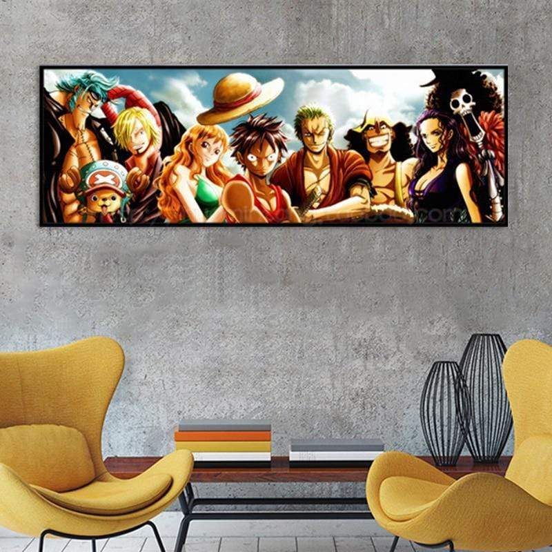 One Piece Panoramic Samaritan Manga Painting Manga Painting
