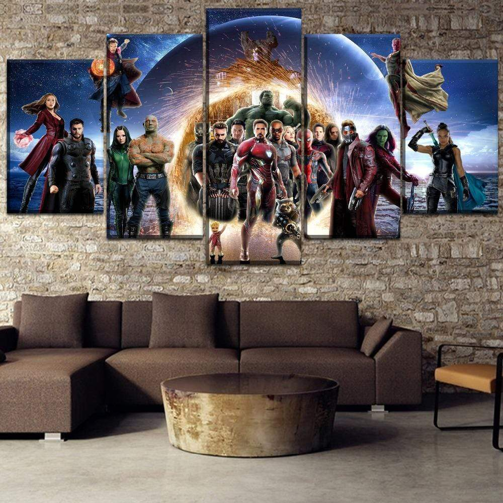Marvel Avengers Infinity War Samaritan Canvas Marvel Dc Comics Canvas