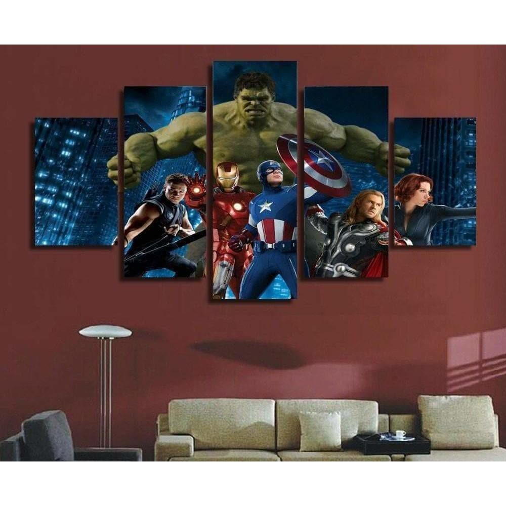 Tableau Marvel Comics Avengers samaritain Tableau Marvel Dc Comics