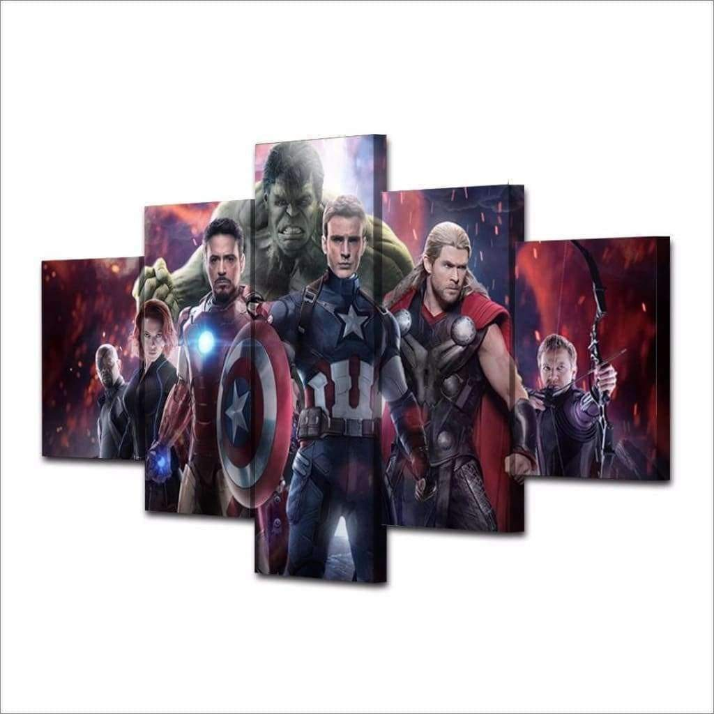 Marvel Dc Comics Painting Marvel Avengers Samaritan Marvel Dc Comics Painting