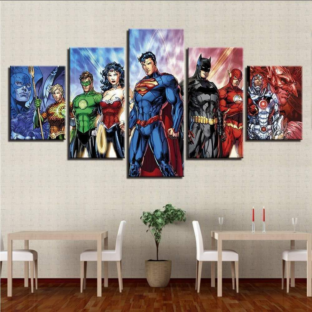 Marvel Dc Comics Painting Samaritan Super Heroes Marvel Dc Comics Painting