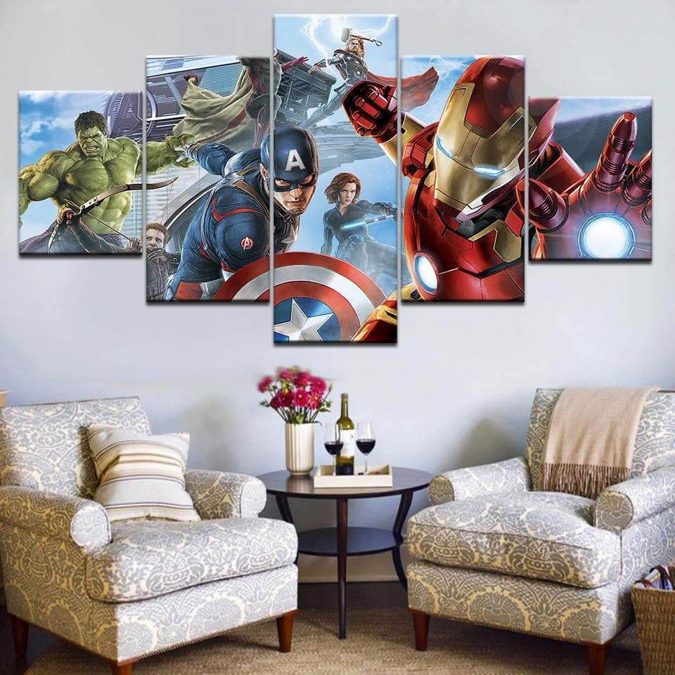 Marvel Canvas The Avengers Samaritan Marvel Canvas