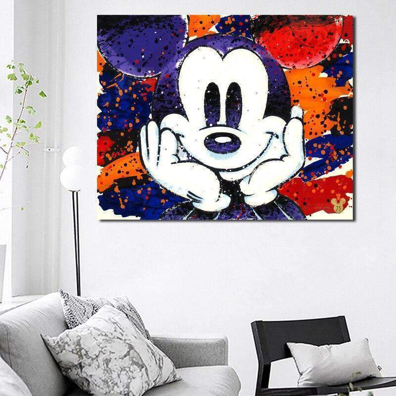 Tableau Mickey Mouse Animation - ruedestableaux.com