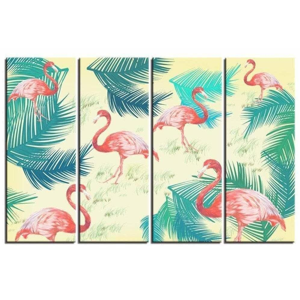 Samaritan Flamingos Birds Painting