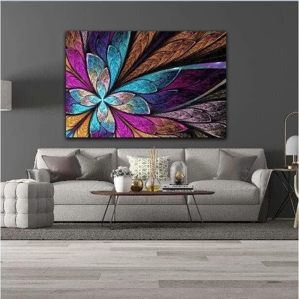 Modern Colorful Samaritan Butterfly Painting