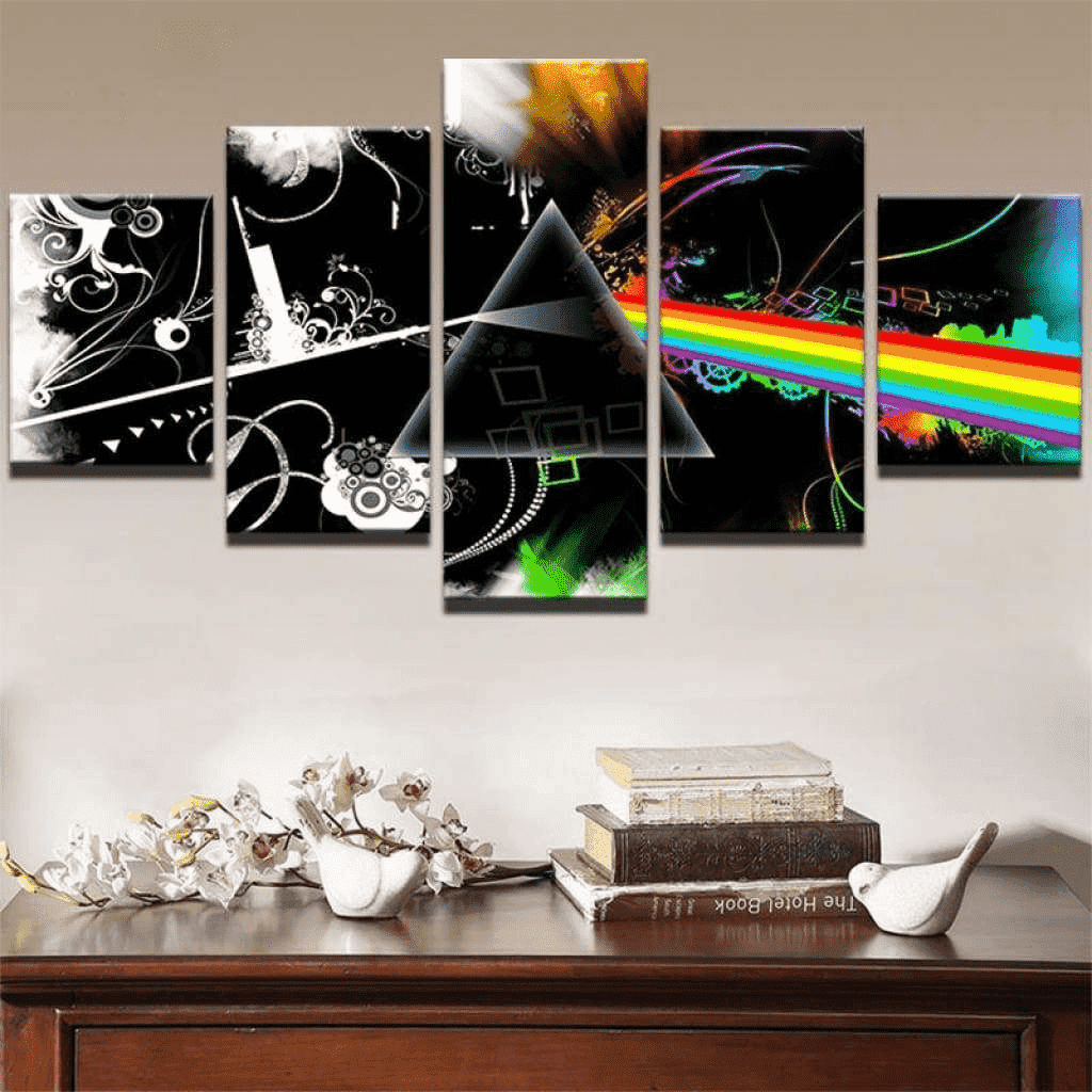 Tableau Pink Floyd Album samaritain