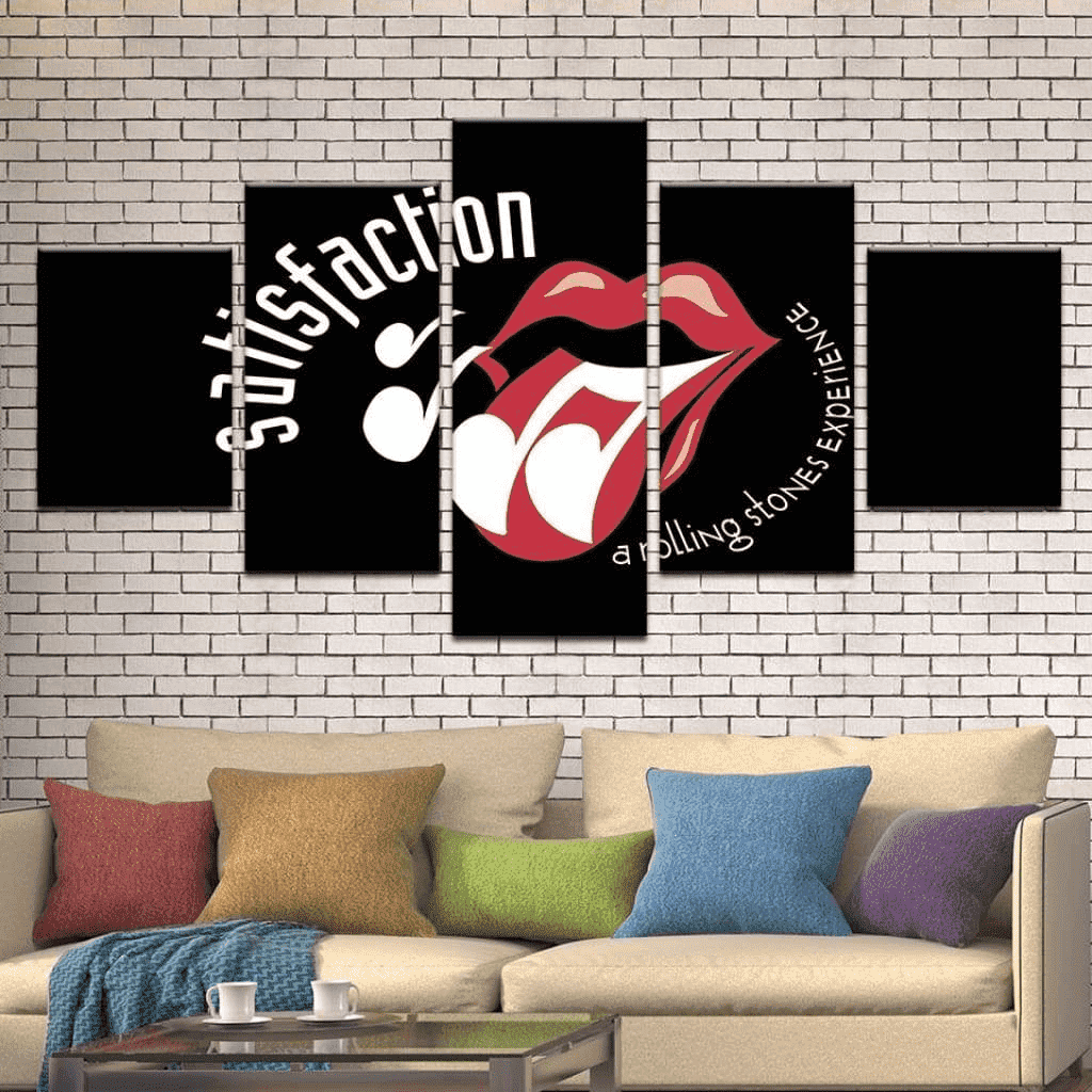 Tableau Rolling Stones Legend samaritain