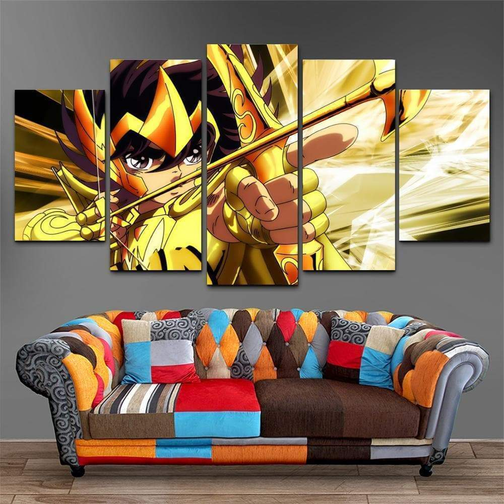 Saint Seiya Painting Knight of the Zodiac Samaritan Seiya Manga Painting