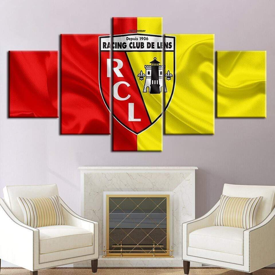 Tableau Sport RC LENS FOOTBALL samaritain tableau sport