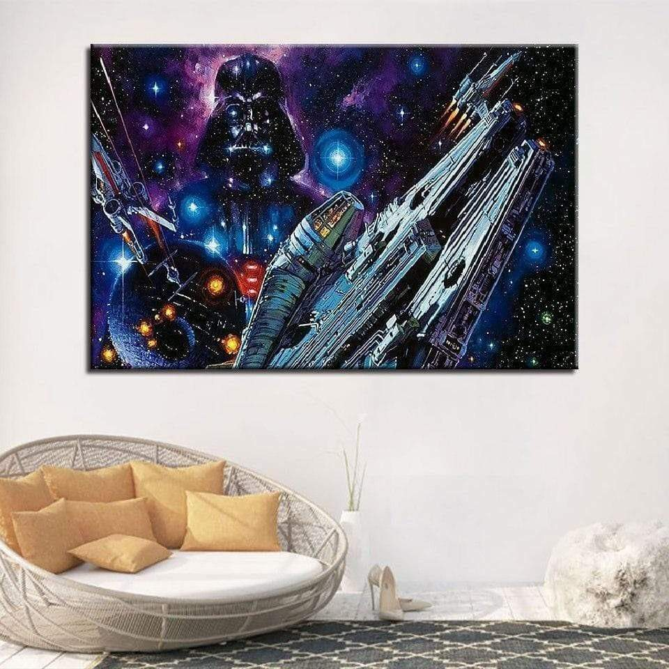Tableau Star Wars Movie Wall samaritain tableau star wars