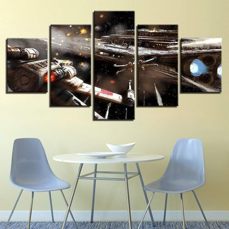 Tableau Star Wars The Force Awakens samaritain tableau star wars