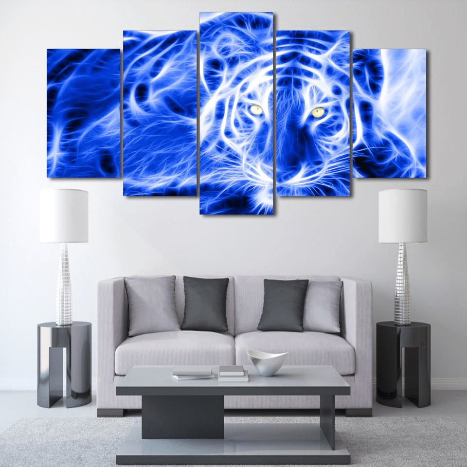Samaritan Electric Tiger Painting Animal Painting