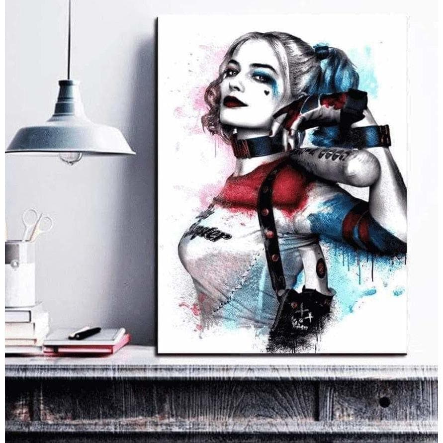 Harley Quinn DC COMICS Samaritan Interior Decor Canvas