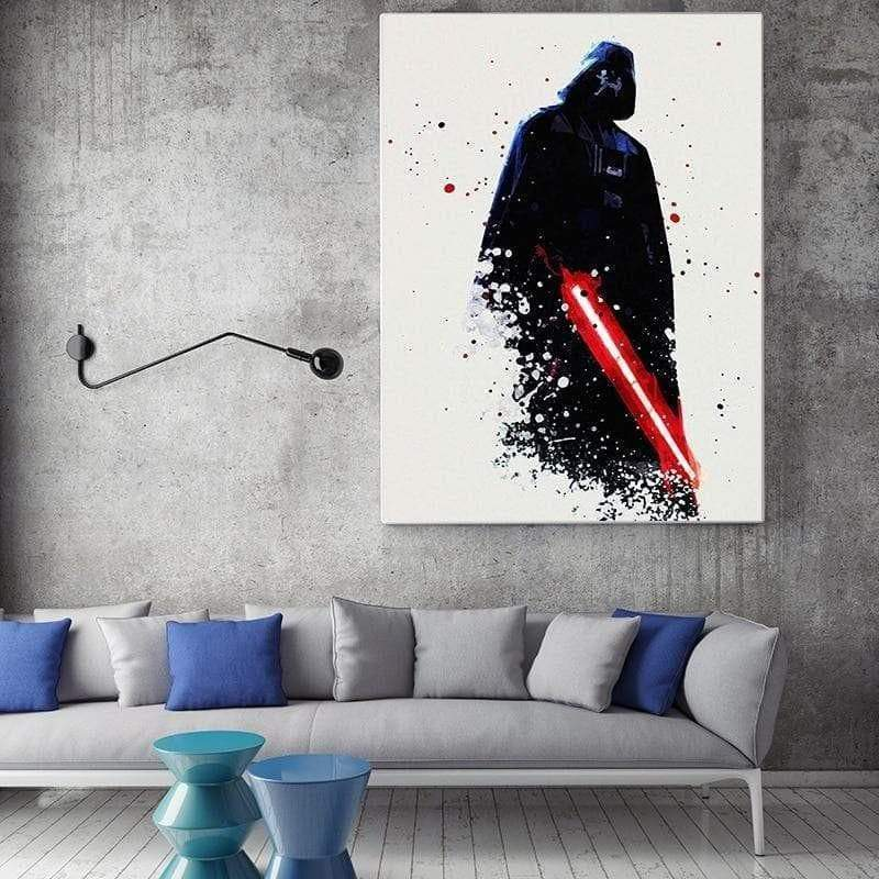 Toile Star Wars Vador samaritain tableau star wars