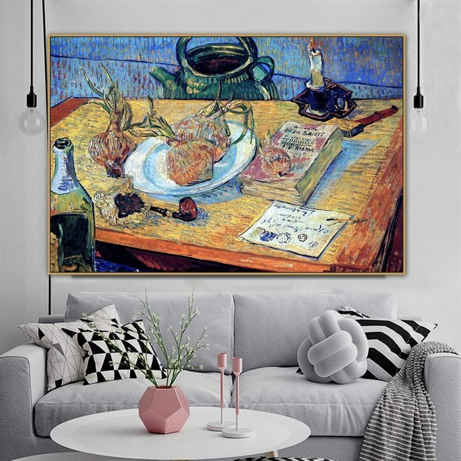 Vincent Van Gogh Canvas The Samaritan Onion Plate Vincent Van Gogh Canvas