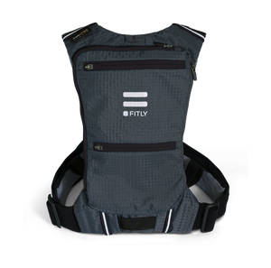 FITLY Innovative Running Pack - Classy Black - SUB45