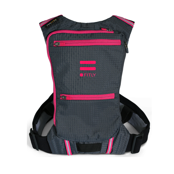 FITLY Innovative Running Pack - Power Pink
