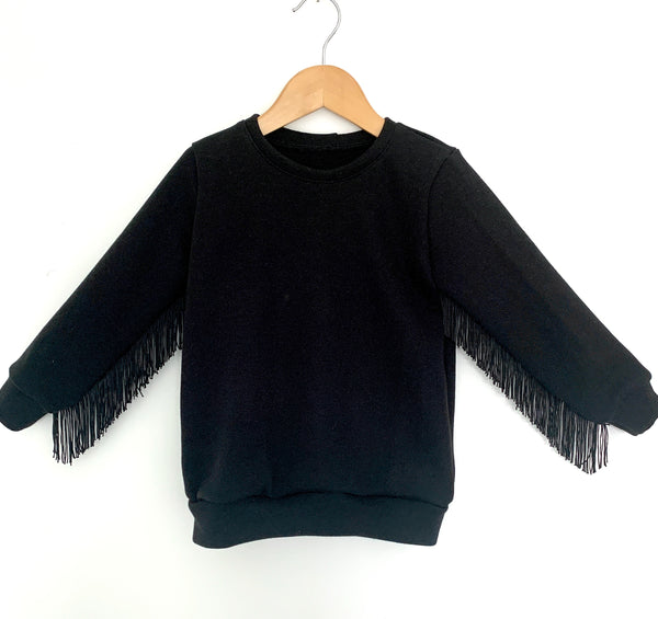 Boho Fringed Jumper