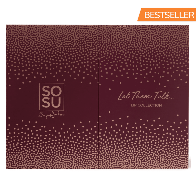 SOSUbySJ Let Them Talk Lip Collection Lipstick, Lip Gloss & Lip Liner Ultimate Collection Giftset