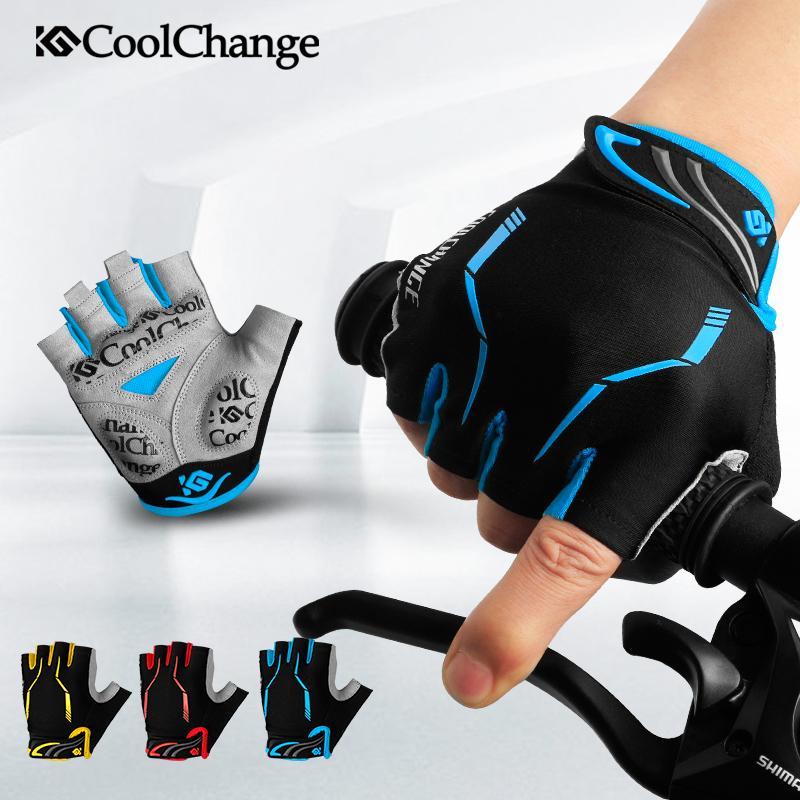 Cycling Gloves Half Finger - by CoolChange | Outdoor's Top Gear