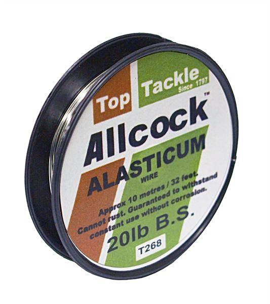 Allcock Alasticum Single Strand Wire-Trace wire-Allcock-Irish Bait & Tackle
