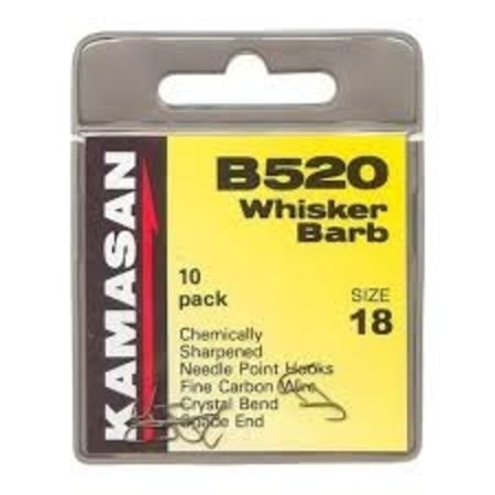 Kamasan B520 Whisker Barb-Coarse Hooks-Kamasan-Irish Bait & Tackle