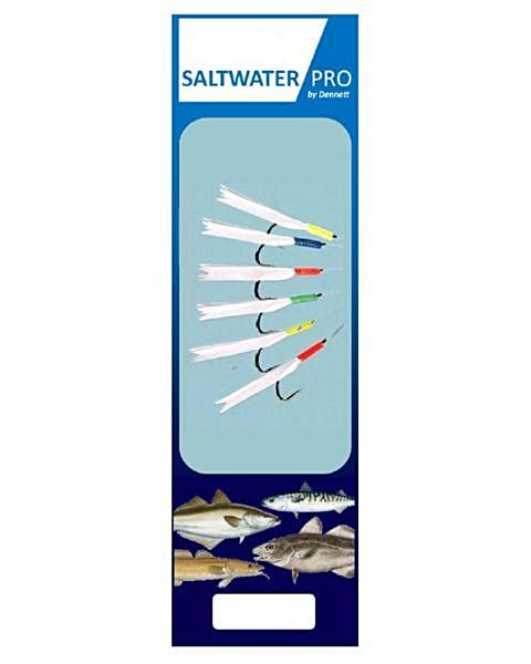 Dennett Saltwater Pro 6 Hook Daylight Rigs-Predator Hooks-Dennetts-Irish Bait & Tackle