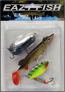 Eazy Fish Pike Lake Lure Pack-Pike lake lure pack-Dennett-Irish Bait & Tackle