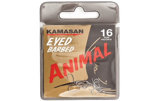 Kamasan Eyed Barbed Animal-Coarse Hooks-Kamasan-Irish Bait & Tackle