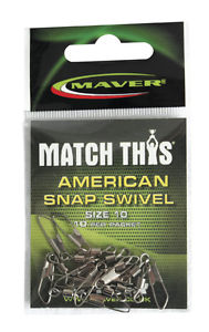 Maver America Snap Swivel-Swivel-Maver-Irish Bait & Tackle