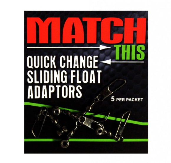 Maver Quick Change Sliding Float Adaptors-Quick change sliding float adaptors-Maver-Irish Bait & Tackle