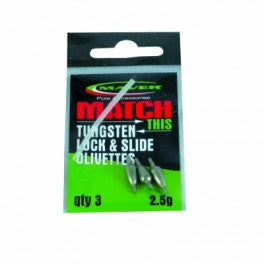 Maver Match this Tungsten lock and Slide olivettes-Tungsten lock & Slide-Maver-Irish Bait & Tackle