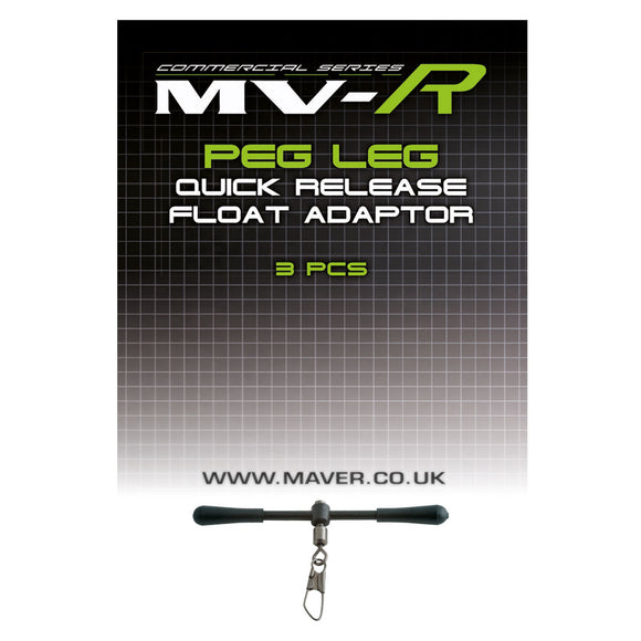 MVR peg leg quick release float adaptor-Accessories-Maver-Irish Bait & Tackle