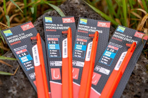 Preston Natural N-10 Barbed Hooklengths-Hook Length-Preston Innovations-Irish Bait & Tackle