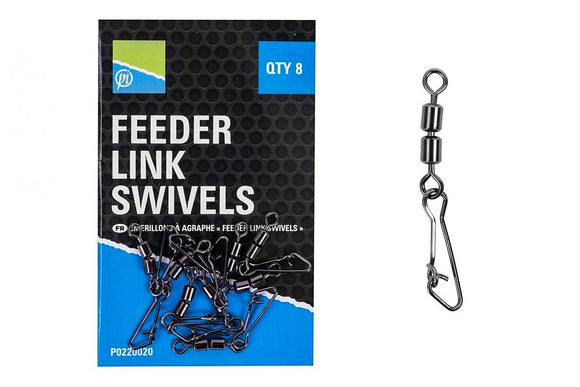 Preston Feeder Link Swivels-Feeder Link Swivels-Preston Innovations-Irish Bait & Tackle