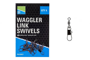 Preston Waggler Link Swivels-Waggler link swivels-Preston Innovations-Irish Bait & Tackle