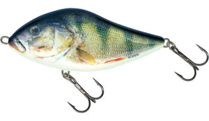 Salmo Slider Sinking/Floating 12cm & 10cm-Hard Lures-Salmo-Emerald Perch (12cm Sinking)-Irish Bait & Tackle