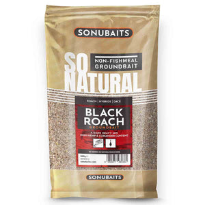 Sonubait So Natural Black Roach-Groundbait-Preston Innovations-Irish Bait & Tackle