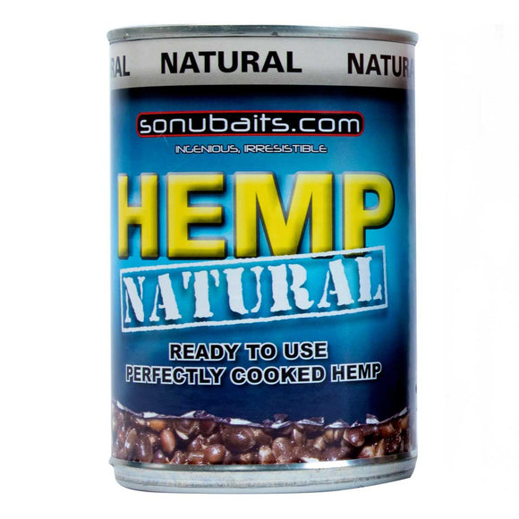 Sonubaits Tinned Hemp-Hemp-Preston Innovations-Natural-Irish Bait & Tackle