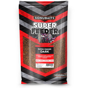 Sonubaits Super Feeder - Dark-Groundbait-Preston Innovations-Irish Bait & Tackle