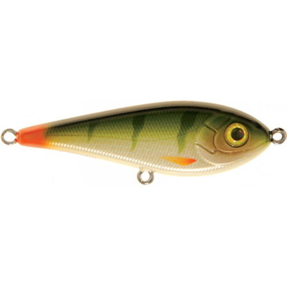 Strike Pro Buster Jerk Bait-Hard Lures-Strike Pro-C076F - Natural Perch(15cm - 75g)-Irish Bait & Tackle
